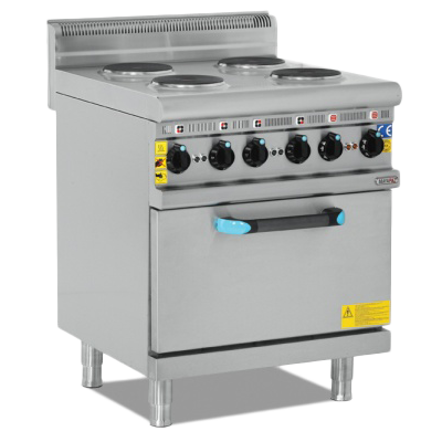 Electric Cooker With Oven - 4 Burner