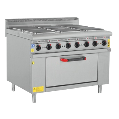 Electric Cooker With Oven 6 Burner